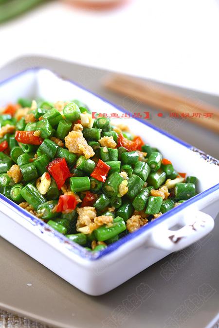 简单下饭系列之·剁椒肉末炒豇豆