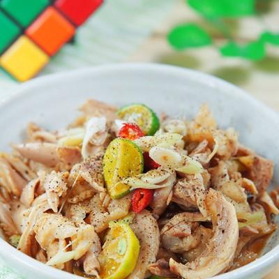 处暑时节就要轻松料理——清凉手撕鸡