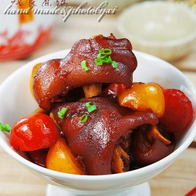 炎炎夏日也需要高调能量——番茄猪手(压力锅版)