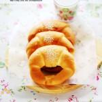 轻松做不用发酵的松软人气面包---金牛角