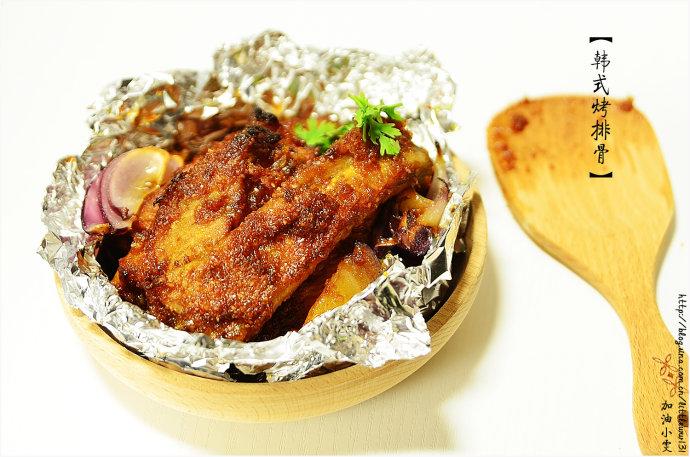 经典韩式料理轻松做『韩式烤排骨』
