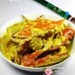 厨房新手展示厨艺的应季海鲜-------咖喱蟹