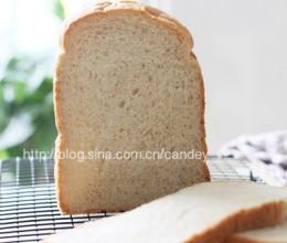 面包机做面包--【豆渣吐司】
