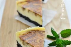 簡單易做零失敗『咖啡大理石乳酪蛋糕』