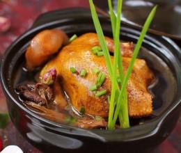 国庆长假给家人做一道惊艳的滋补大餐----香气四溢的黄酒焖鸽