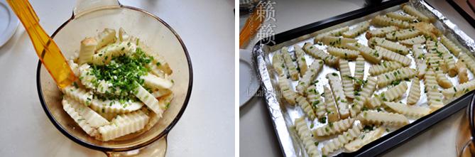 葱香薯棒棒,休闲小食在家轻松做!