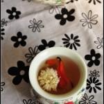 最适合秋季饮用的润肺清火茶——三花枸杞饮
