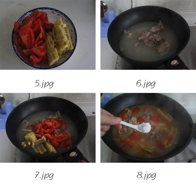 一碗好汤解秋燥——番茄玉米排骨汤