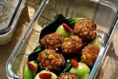 家常菜速成法,简单又好吃的【菜心香菇酿】