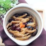 秋季家常的滋補養顏煲——【紅棗香菇鳳爪煲】
