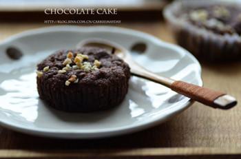 爆浆吧!半熟熔岩巧克力蛋糕