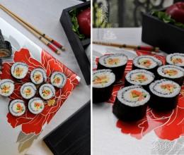 寿司怎么切?好寿司,卷得漂亮更要切得漂亮!