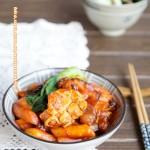幸福温暖的美食——韩式海鲜炒年糕