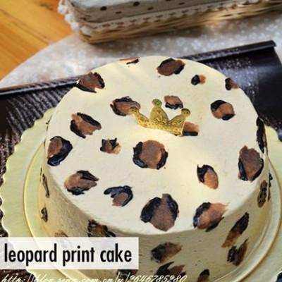 豹纹芝士蛋糕