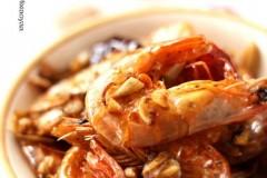 干虾怎么吃?油爆香辣虾
