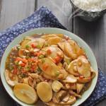 5分钟搞定一道营养下饭菜——蒜香杏鲍菇