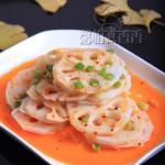 简单好滋味,五分钟搞定的快手菜-----红油藕片