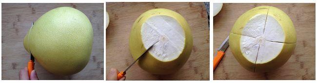 轻轻松松开柚子的小窍门