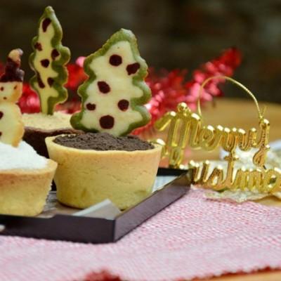 【圣诞主题盆栽甜点】附:最简便最能保留栗子原味的妙招