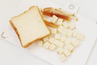 过期面包的最佳归宿【香草面包布丁】