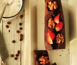 多图详解冬天打发黄油的窍门----核桃巧克力蛋糕
