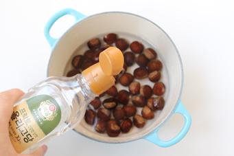 21图教你做出香气四溢的慢烤栗子