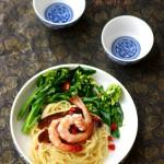 一碗面可以吃得活色生香:鲜虾蚝油捞面