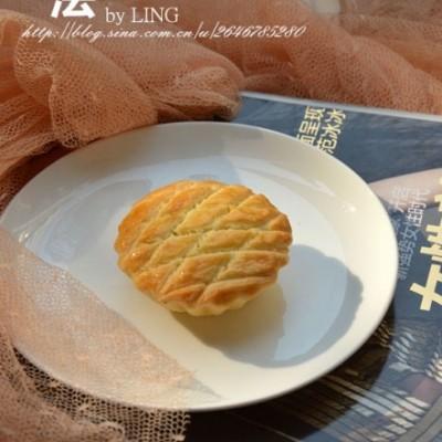 【法式栗蓉酥饼】在家做酥松香甜的法式馅饼