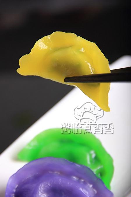 冬至吃饺子---教你做纯天然彩色饺子