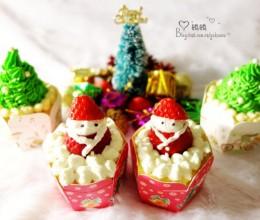 多图详解精致可爱【圣诞主题小蛋糕】做法