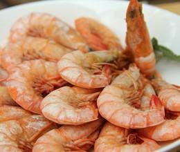 快手圣诞家宴菜白灼海虾