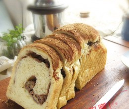#百家千宴#幸福烘焙-和谐之美天然酵母肉桂香蕉核桃面包