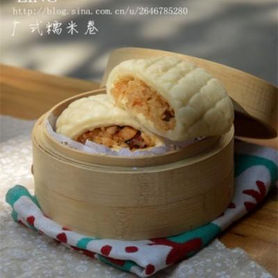 【腊味糯米卷】内外兼备的广式传统茶点