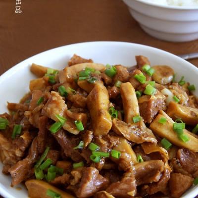 #百家千宴#江沪【杏鲍菇炒牛肉】:瞬间征服味蕾的牛肉宴客菜