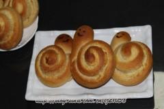 #百家千宴#+幸福烘焙+一款特好吃的面包【炼奶椰蓉蜗牛包】