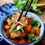 #百家千宴#内蒙人家最爱的排骨吃法:酱烧土豆排骨