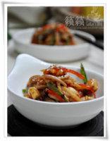 #百家千宴#火辣辣的鲜香好滋味——辣椒外婆蛋!