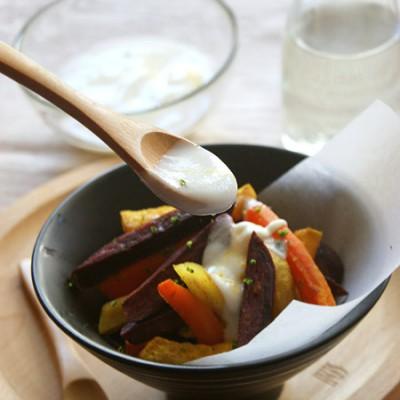 #百家千宴#创意西餐普通食材变身惊艳的【菜根沙拉】