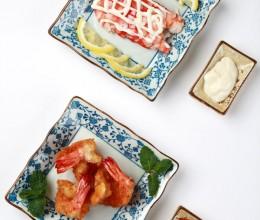 #百家千宴#广东大虾两吃《沙拉虾VS黑椒柠檬虾排》《厨房小混子》二十七