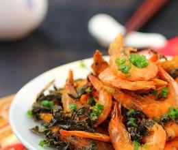 新浪美食试用团---年夜菜单上带来惊喜的香脆酥口茶叶虾