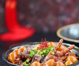 #百家千宴#+浙江+迎接马年的金牌菜之豆豉凤爪排骨煲