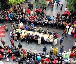 [杭州]马年大年初三一马当鲜百家宴(组图)