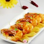 #百家千宴#红红火火的油焖虾烩年糕