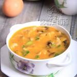 吃好早餐,增强抵抗力-----紫菜南瓜疙瘩面