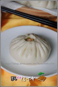 不应错失的江南味道----雪菜冬笋粉丝包(双色)