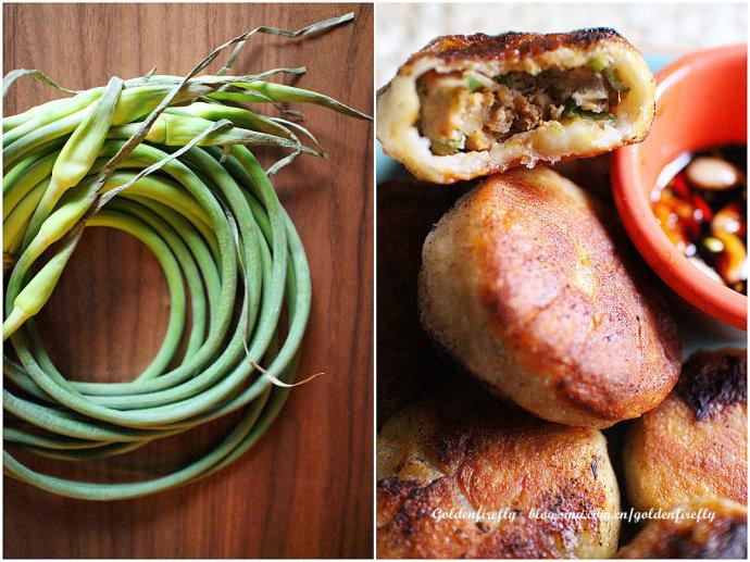 春季料理好抗菌-蒜苔猪肉馅饼合肥牛奔v蒜苔有限公司图片