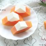 春季的小清新甜品木瓜牛奶冻