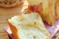 【芝士火腿吐司】面包机版吐司的常见问题之我见(一)
