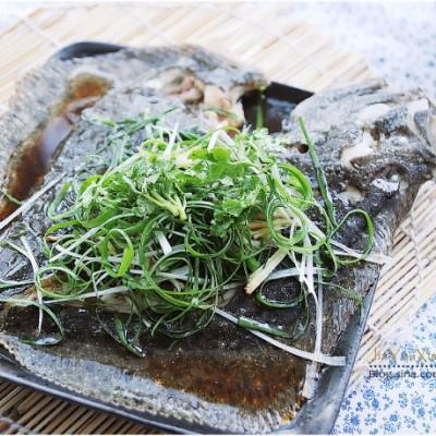 10分钟做一道馆子鱼『清蒸多宝鱼』