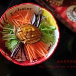 鲍鱼蔬菜拌饭----懒人版海天酱快手美味